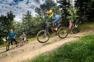 snowshoe mountain bikecycle track